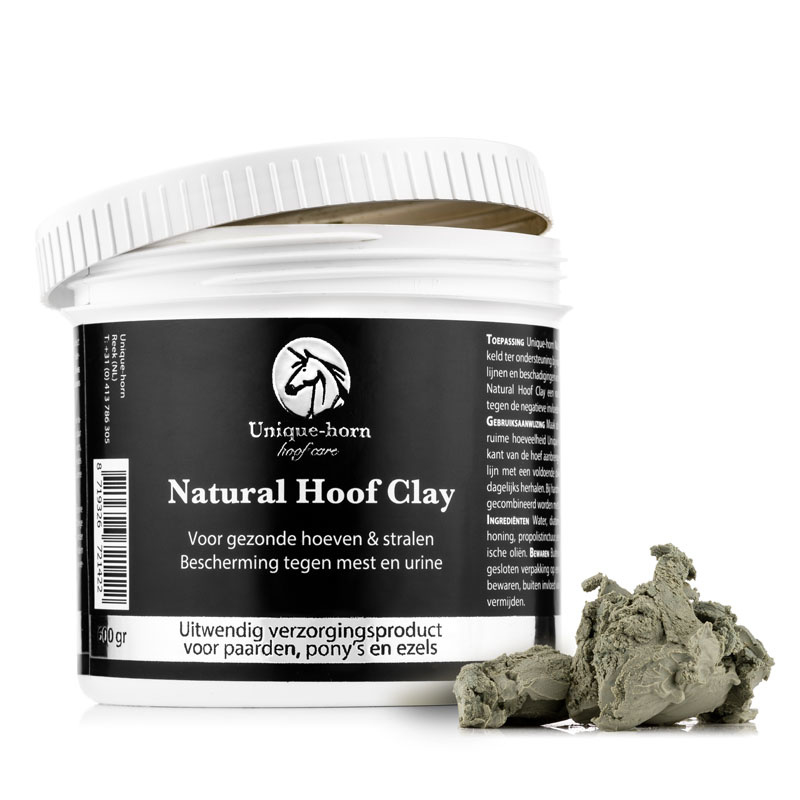 Foto van Unique-Horn Natural Hoof Clay